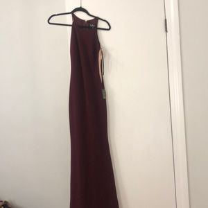 Burgundy Lulus dress brand new